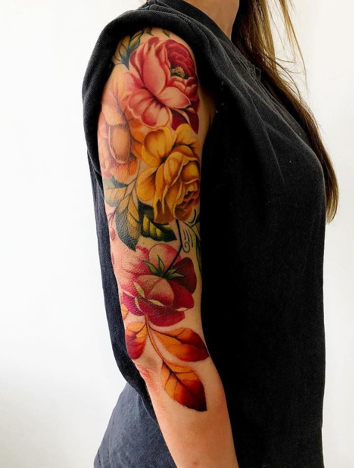 30 Best Flower Tattoos Ever